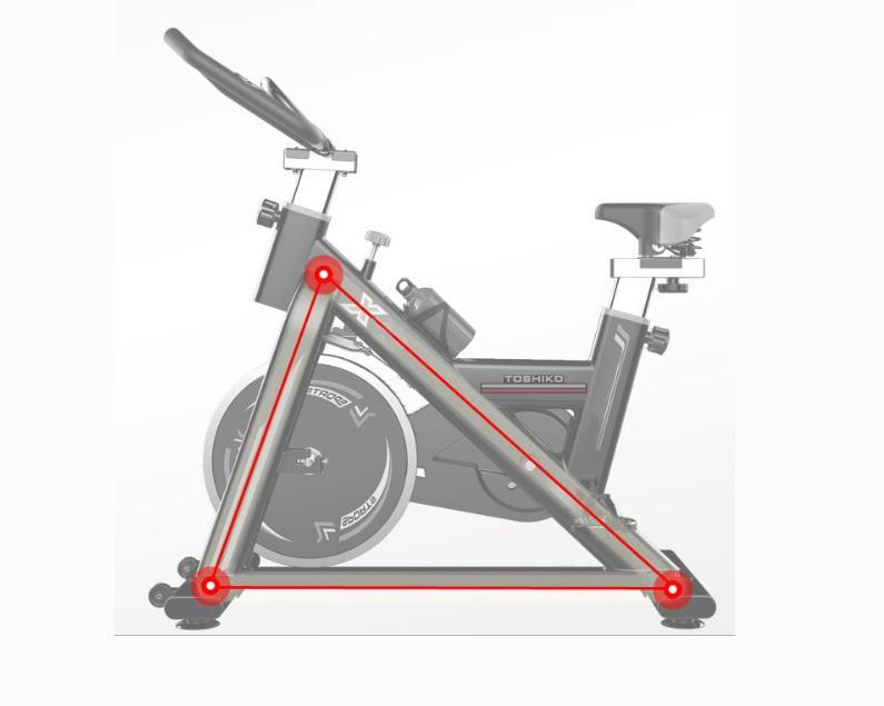 Xe đạp tập Toshiko
