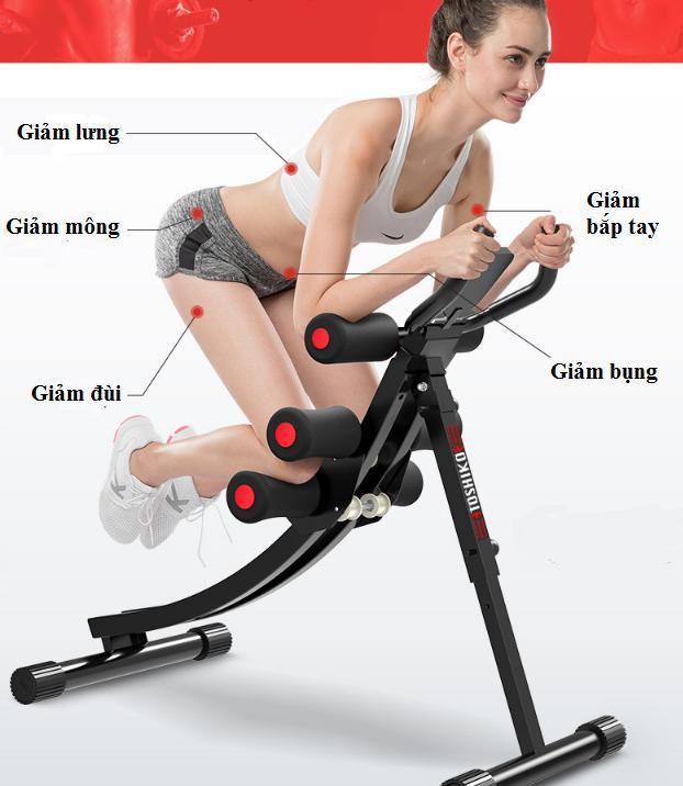 máy tập thể dục giảm mỡ bụng