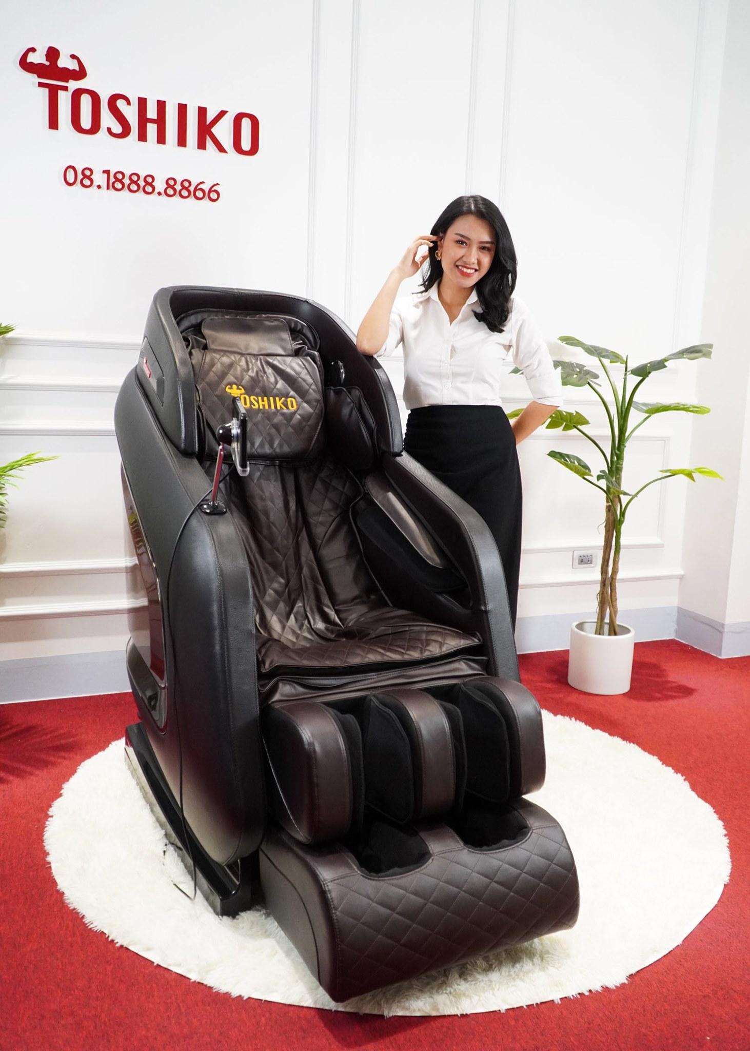 Tại sao ghế massage Toshiko không hề rẻ, cao hơn hãng khác?