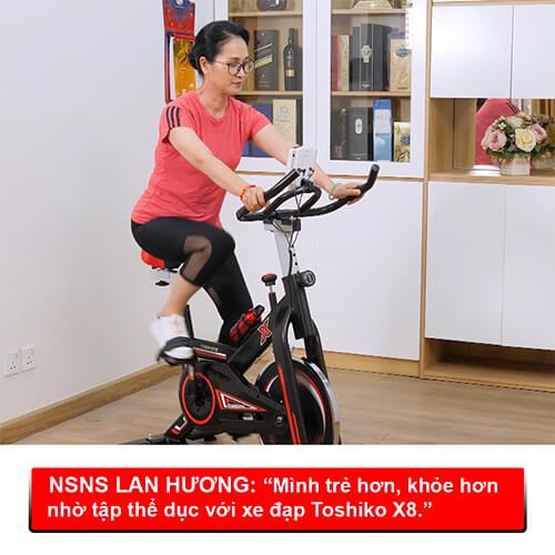 Giá xe đạp tập thể dục tại nhà