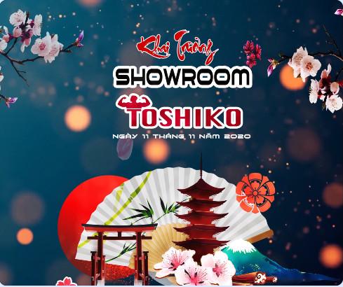 TOSHIKO TUNG QUÀ TẶNG KHỦNG MỪNG KHAI TRƯƠNG SHOWROOM