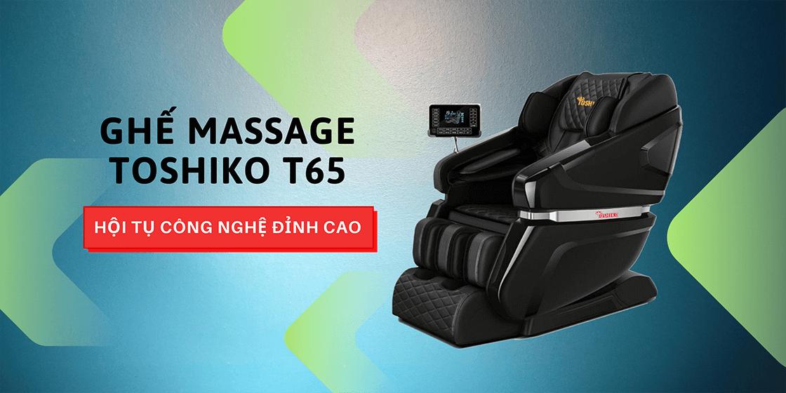 Ghế massage Toshiko chất lượng Nhật giá Việt