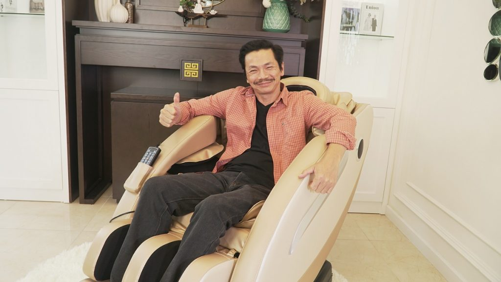 Ghế massage có tác dụng trị liệu không