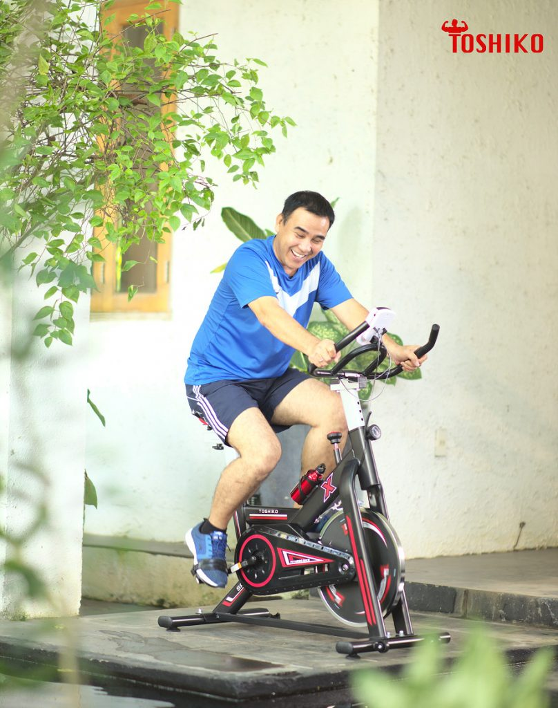 Xe đạp máy tập thể dục tại nhà