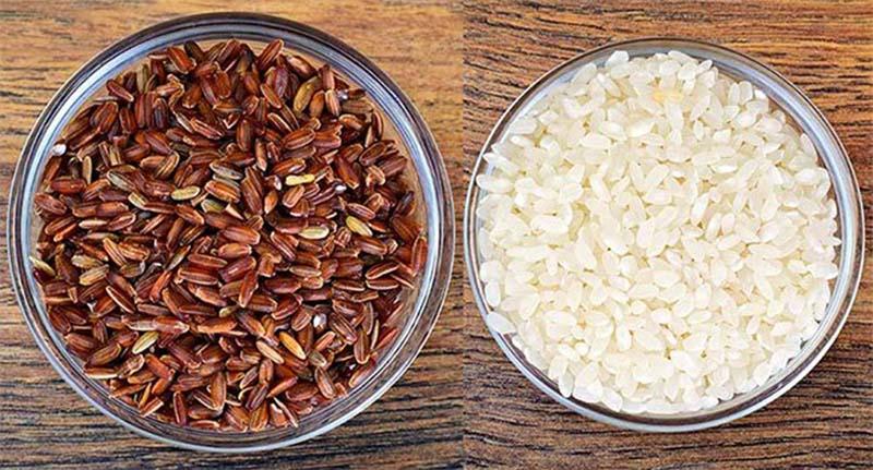 Nên chọn gạo trắng hay gạo lứt giảm cân