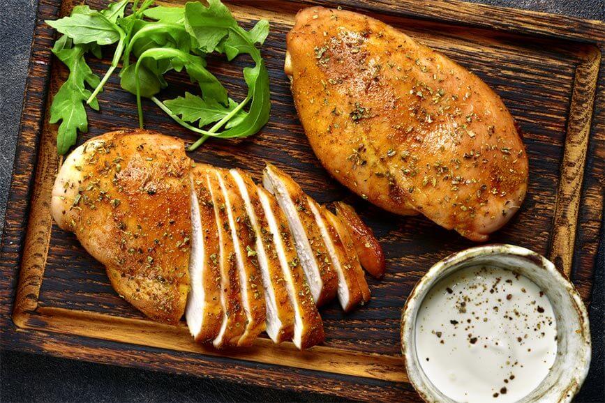 100g thịt gà