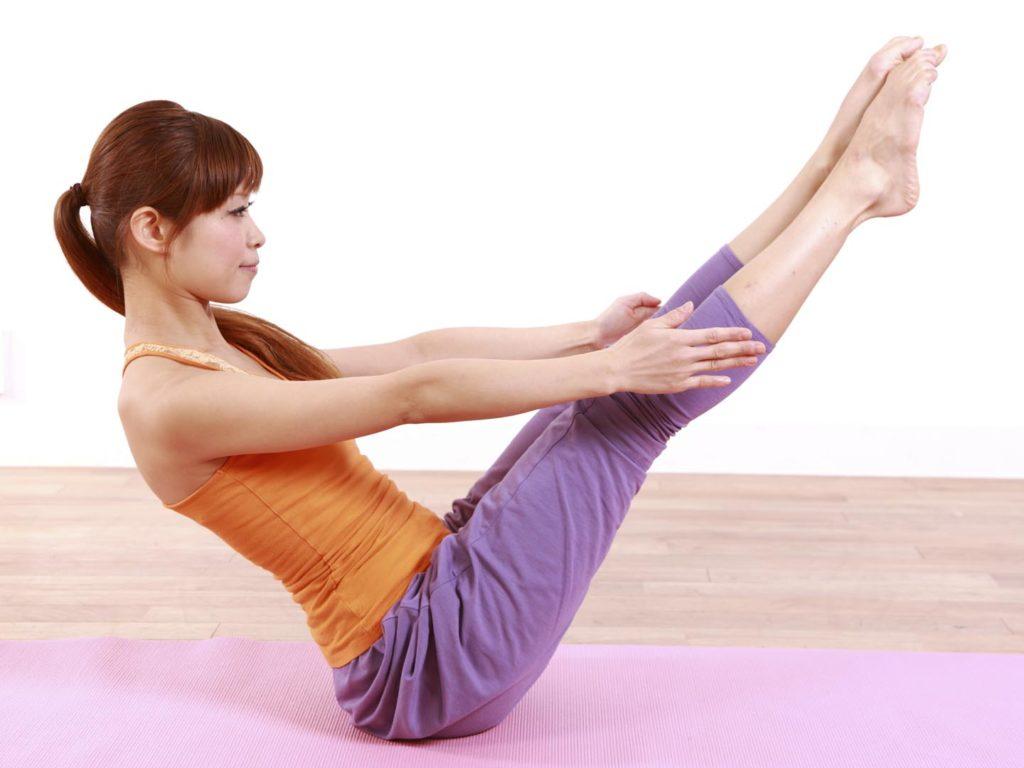 Bài Yoga giảm mỡ bụng hiệu quả cho người mới tập: