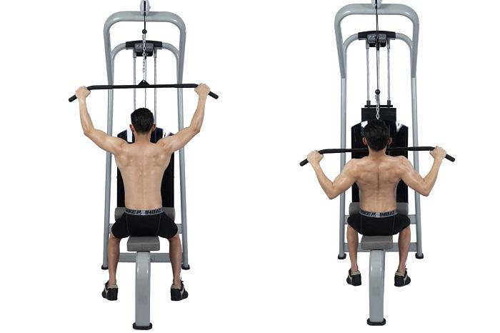 Máy tập thể dục kéo tay
