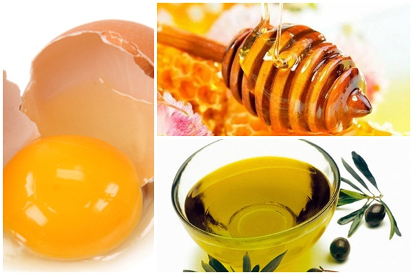 Ăn mật ong với trứng gà