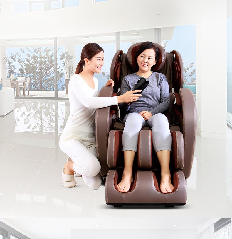 Giảm đau nhanh chóng bằng ghế massage
