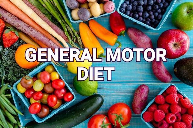 Phương pháp giảm cân General Motor Diet