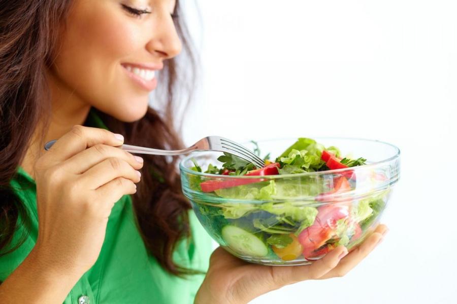 lưu ý khi ăn rau xanh giảm cân