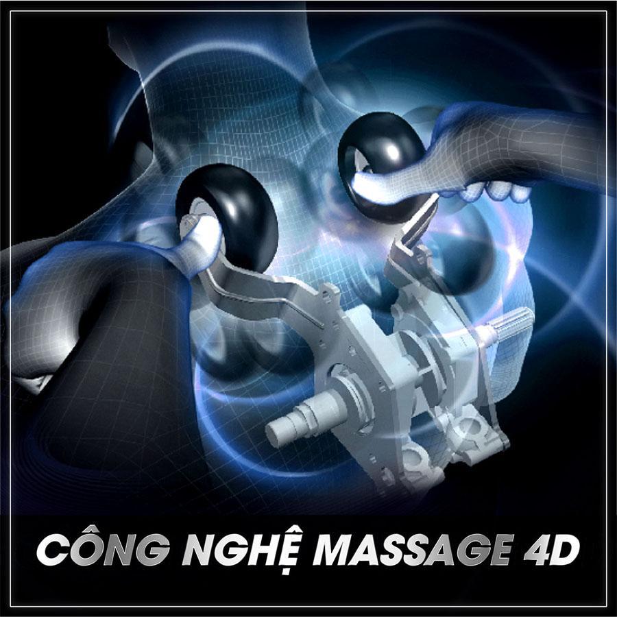 Con lăn cố định hay di chuyển của ghế massage chuyên sâu hơn
