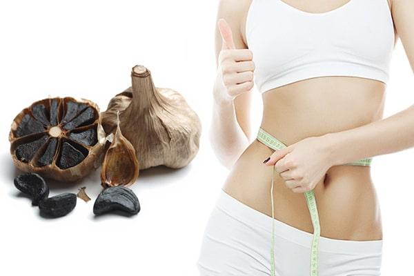 Ăn tỏi đen giảm cân