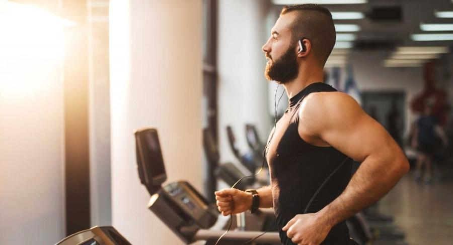 Tập máy chạy bộ giúp xây dựng cơ bắp