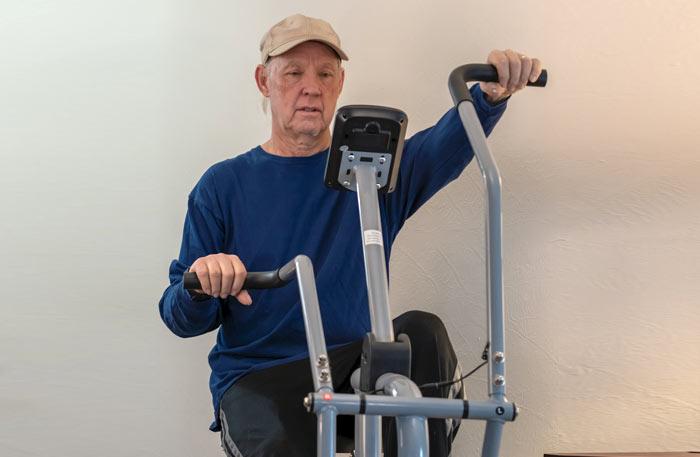 Xe đạp tập vật lý trị liệu-1