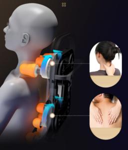 Con lăn massage chân thực như bàn tay người - Toshiko T8