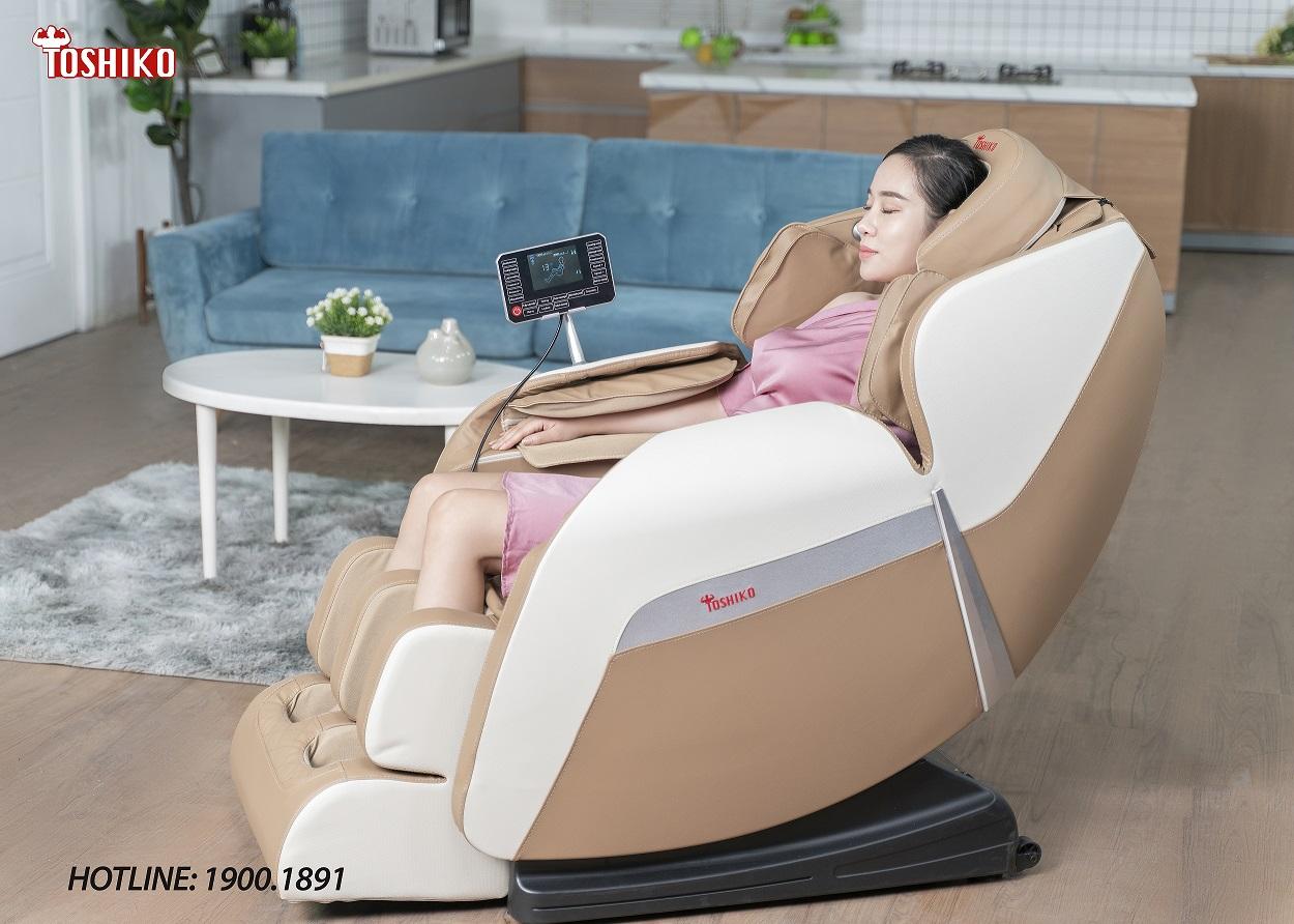 Toshiko - Thương hiệu ghế massage được người dùng bình chọn