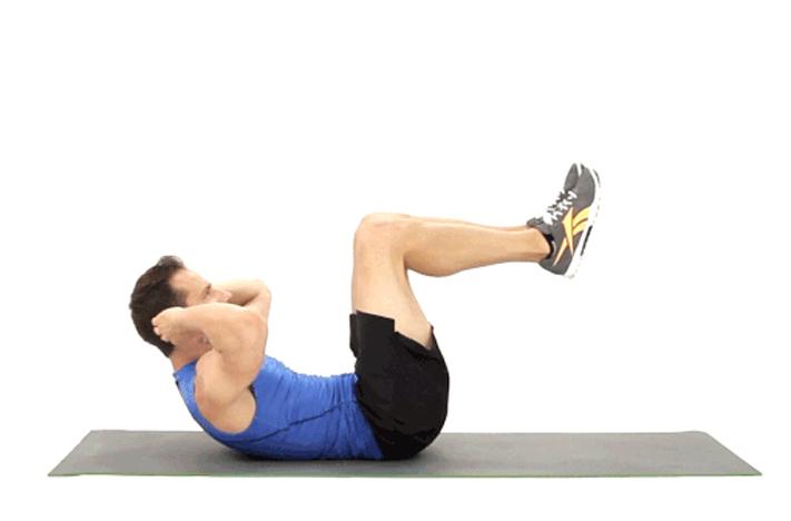 10 bài tập thể dục giảm mỡ bụng hiệu quả tại nhà