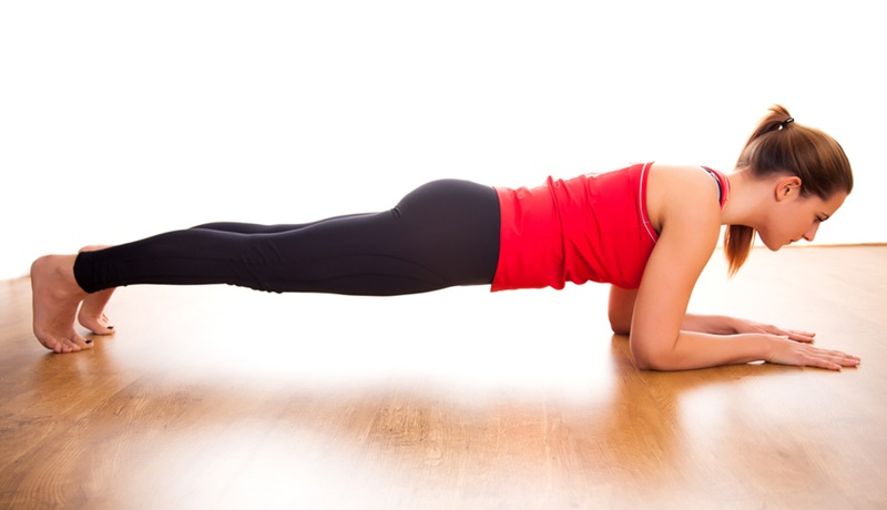 Rolling Plank Exercise – Plank chống đẩy