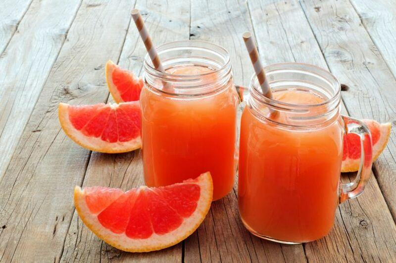 Nước ép bưởi giúp bổ sung vitamin C