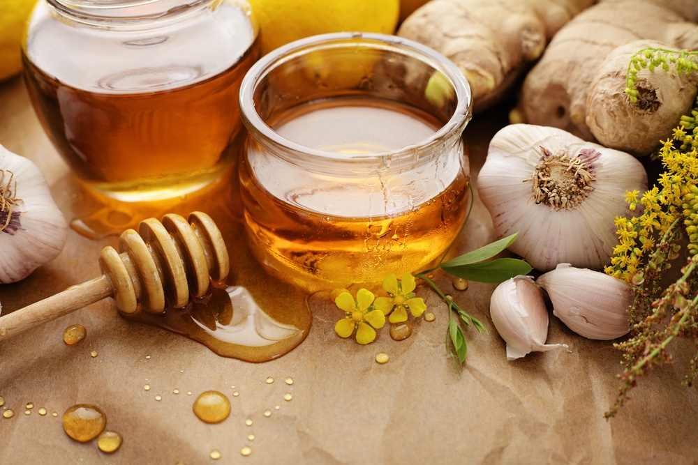 Tỏi và mật ong giảm cân