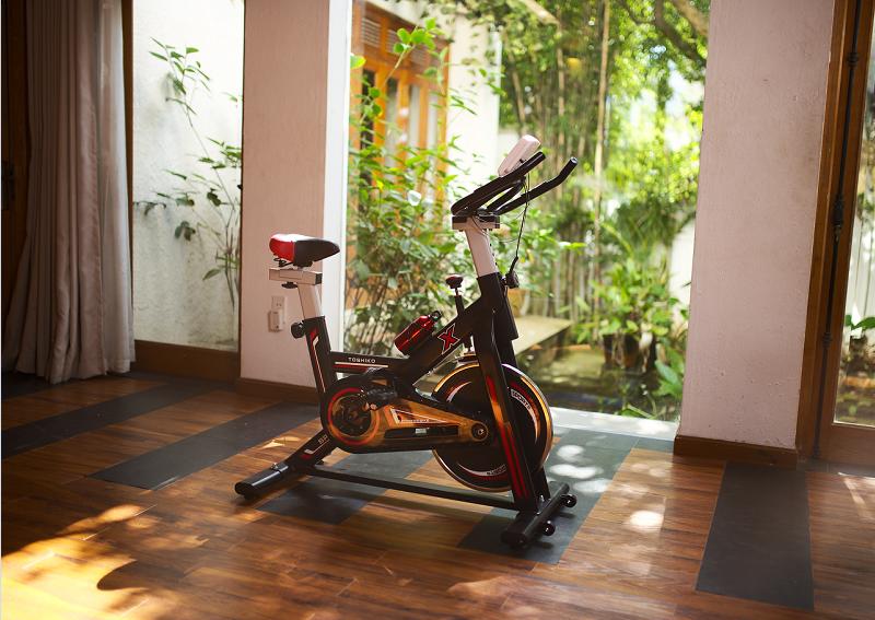 Chọn xe đạp tập với kích thước phù hợp