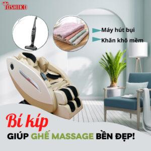 Bảo dưỡng ghế massage Toshiko -2