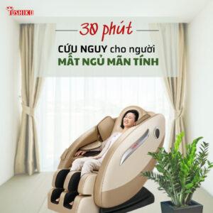 tác dụng khi dùng ghế massage