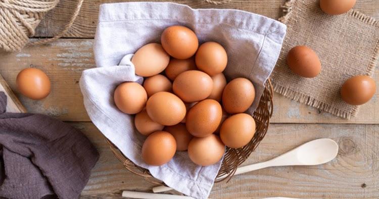 trứng gà giúp tăng cân