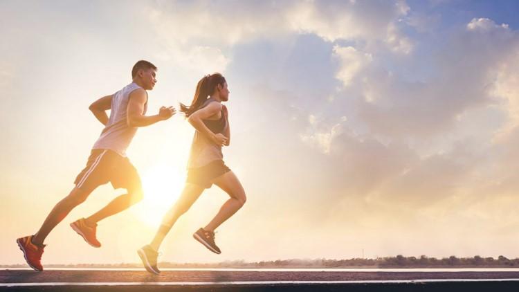 chạy bộ giảm cân