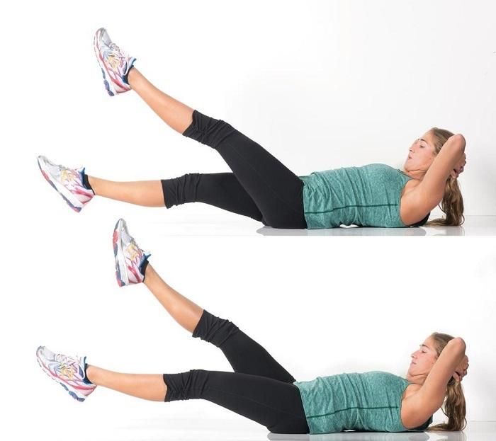 bài tập thể dục giảm mỡ bụng cho nữ-2