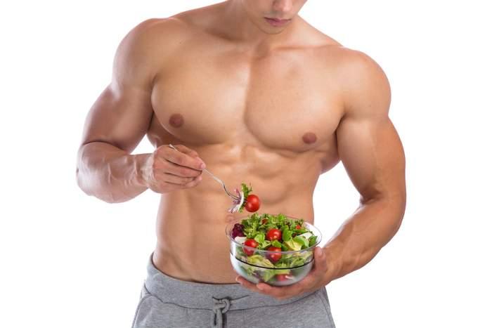chế độ ăn uống giảm mỡ bụng cho nam
