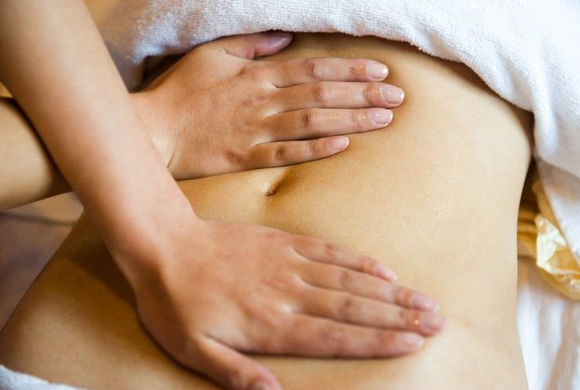 Cách massage giảm mỡ bụng-1
