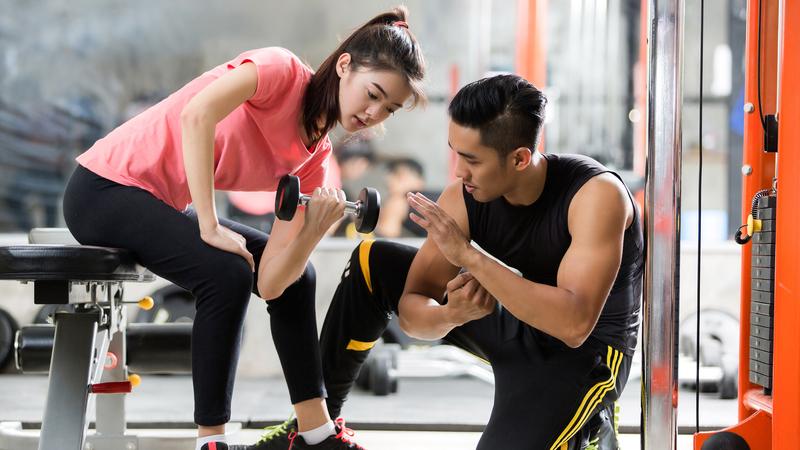 Lưu ý cho người gầy tập gym để tăng cân