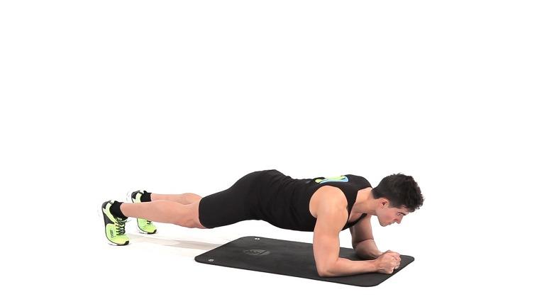 Bài tập plank giảm mỡ bụng cho nam