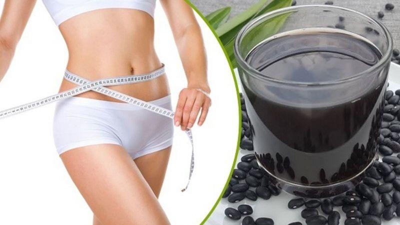 Uống nước đậu đen rang giảm cân-1