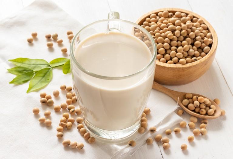 sữa đậu nành tăng cân