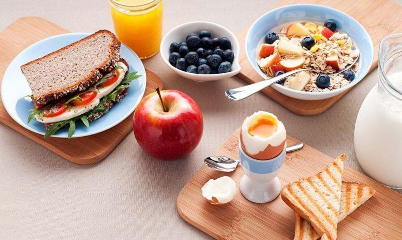 Lưu ý khi ăn sáng trước buổi tập gym