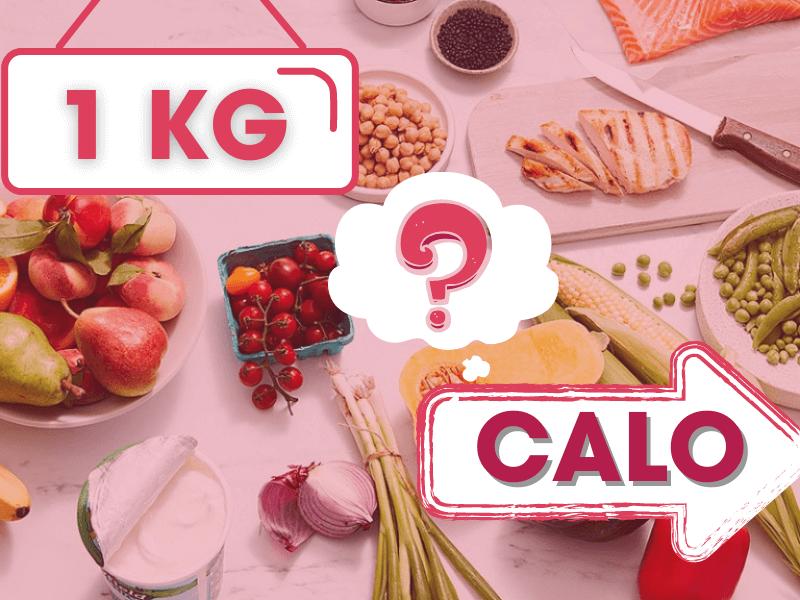 Tiêu hao bao nhiêu calo để giảm 1kg-1