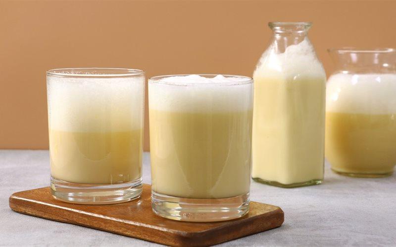 Uống sữa đặc với trứng gà đúng cách