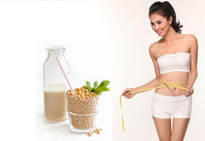 Uống sữa đậu nành đúng cách để giảm cân-1