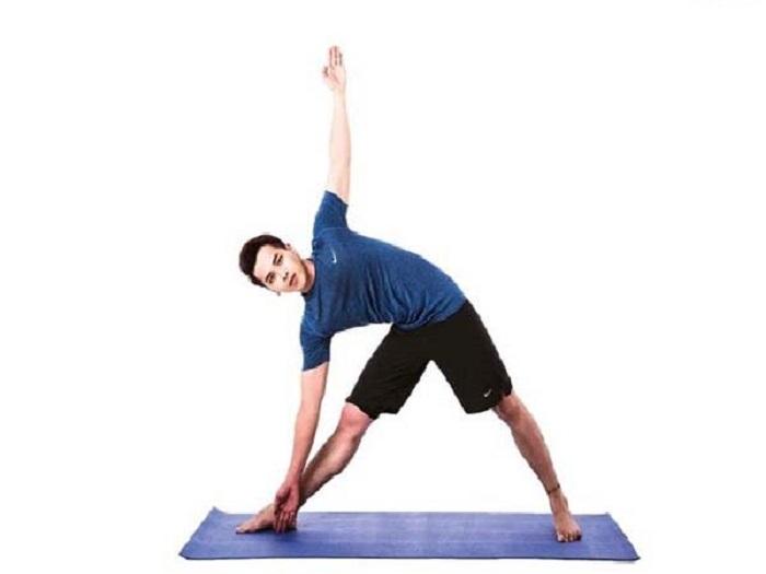 tư thế yoga tam giác
