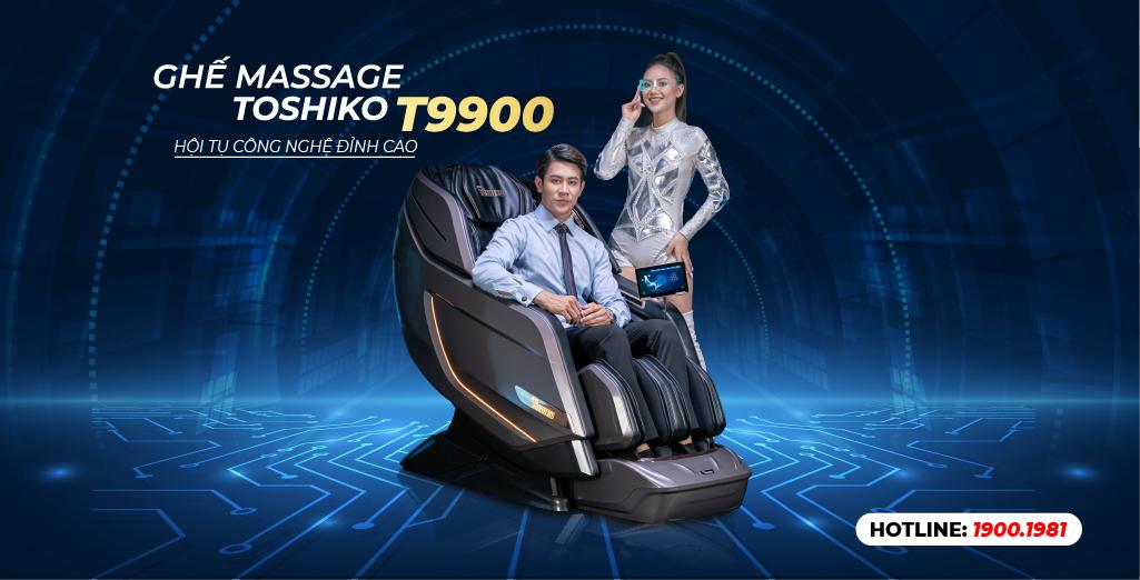 Ghế massage toàn thân Toshiko chất lượng Nhật giá Việt