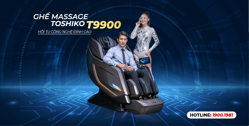 Toshiko tung mẫu ghế massage hạng thương gia - T9900