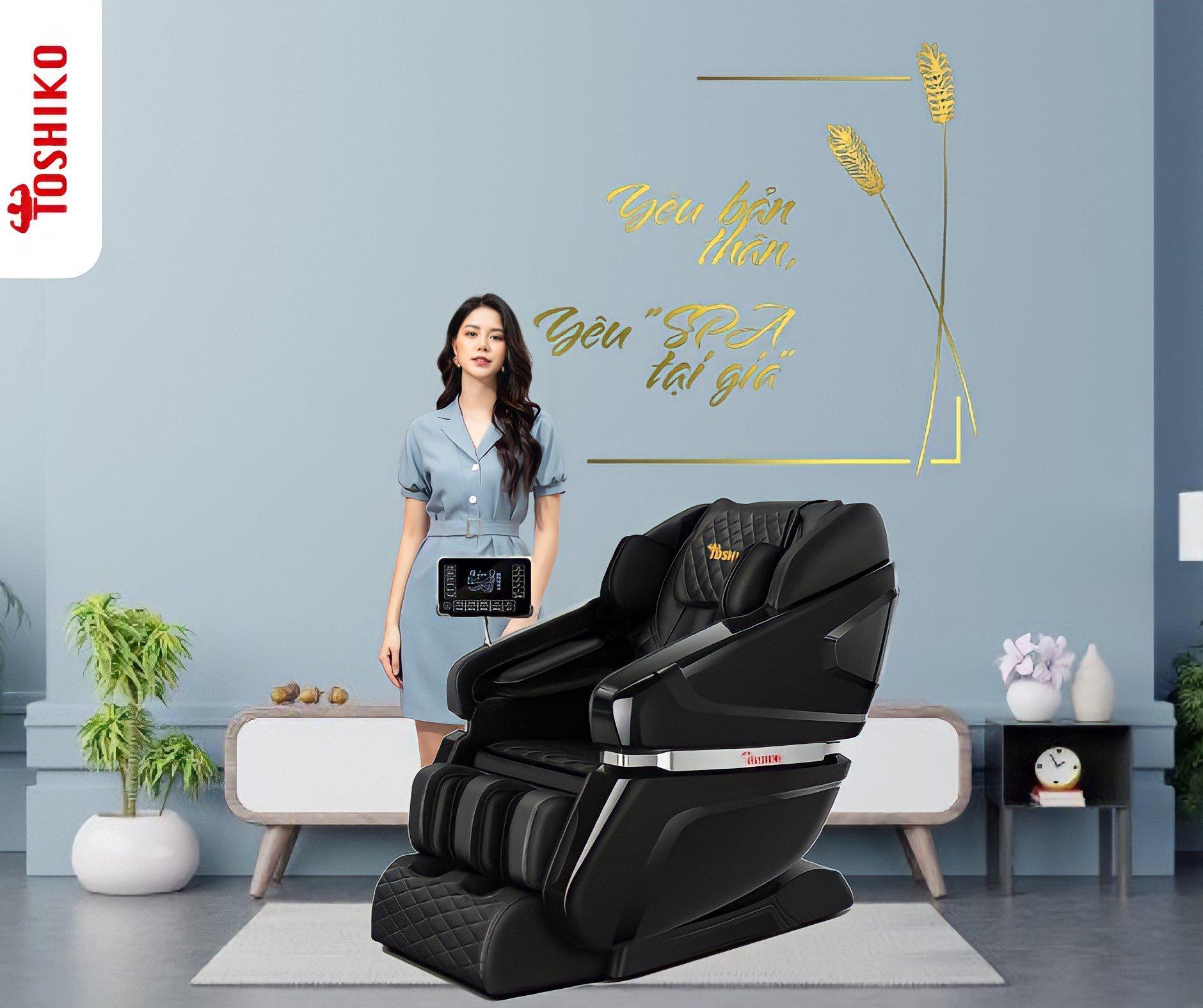 Mua ghế massage toàn thân tại Toshiko-1