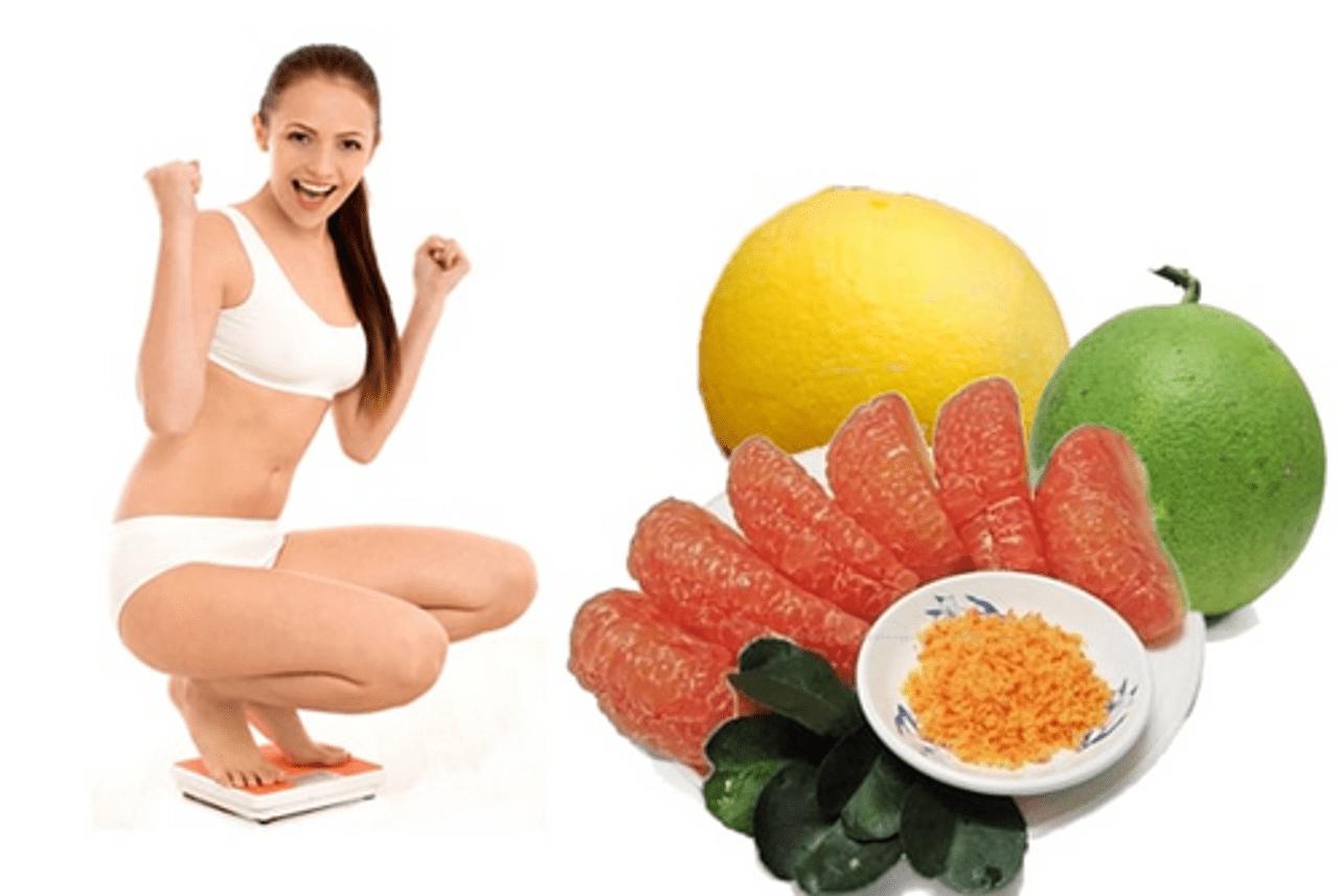 Tác dụng của bưởi trong việc giảm cân -1