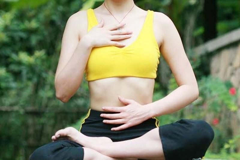 Thở đúng cách giúp giảm cân và mỡ bụng-1